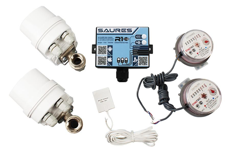 Комплект Saures R1 Комплект Акваконтроль Wi-Fi